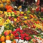 11230533-colourful-fruit-and-vegetable-market-stall-in-boqueria-market-in-barcelona--stock-photo