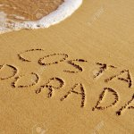 27078585-costa-dorada-the-name-of-an-area-of-the-mediterranean-coast-of-spain-written-in-the-sand-of-a-beach-stock-photo